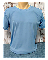 """Футболка """"Прима Лето"""" 40(3XS), """"Unisex"""" цвет: голубой филин"""
