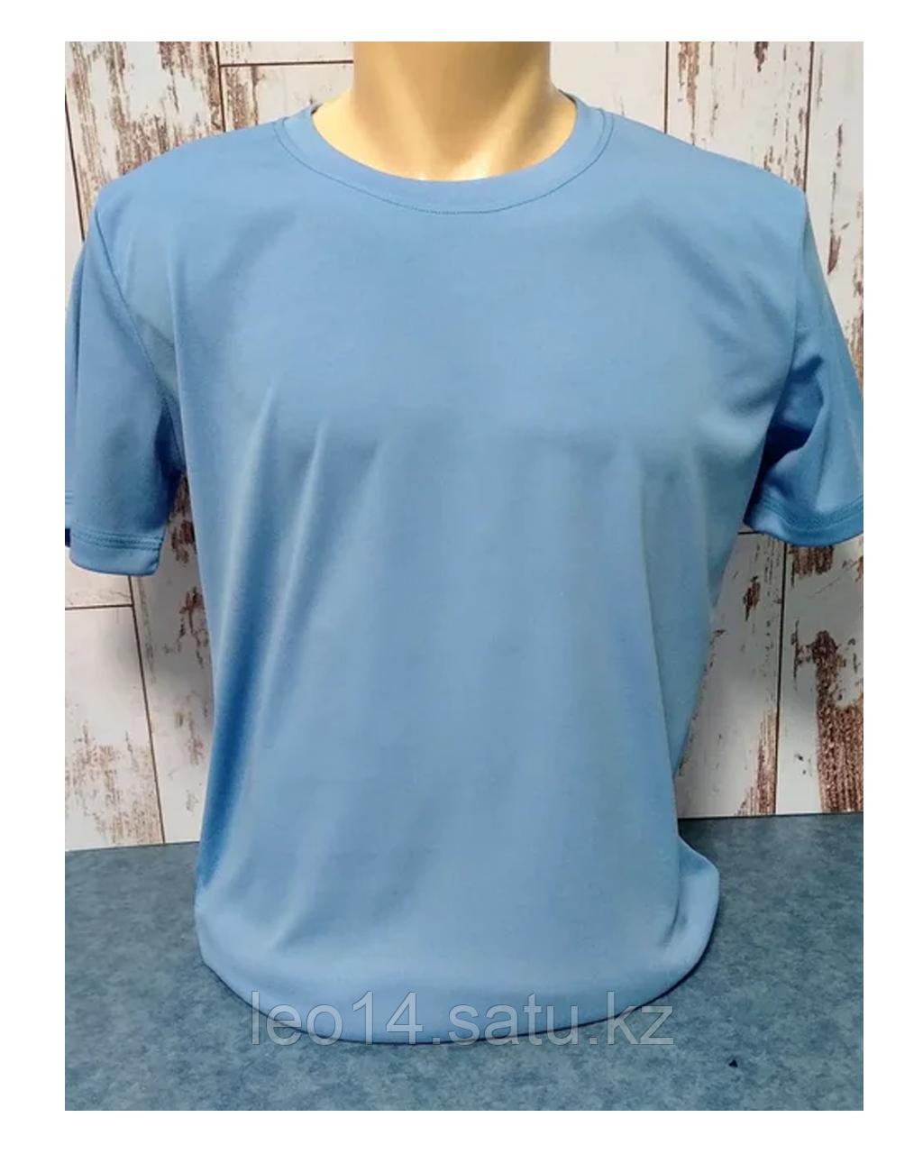 """Футболка """"Прима Лето"""" 52(XL), """"Unisex"""" цвет: голубой филин"""