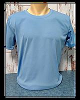 "Футболка ""Прима Лето"" 42(2XS), ""Style woman"" цвет: голубой филин"