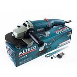 Угловая шлифмашина ALTECO AG 2000-180.1, фото 2