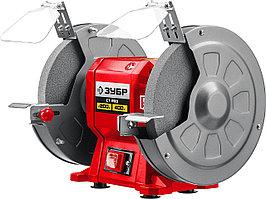 Заточный станок Зубр СТ-200, 200 мм, 400 Вт