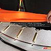 Батут GLOBAL 244 см , с внутренней сеткой и лестницей, фото 5