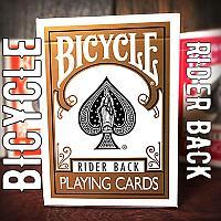 Bicycle Gold Playing Cards (С золотой рубашкой)