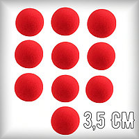 Поролоновые шарики 3,5 см