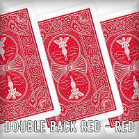 Mandolin double back RED - RED