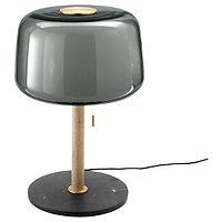 Лампа настольная ЭВЕДАЛЬ мрамор/серый ИКЕА, IKEA