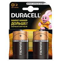 Батарейки щелочные Duracell Basic типа D LR20/MN1300, 2шт