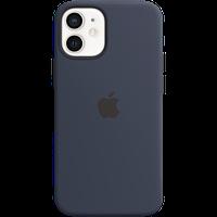 Силиконовый чехол MagSafe для IPhone 12 mini Silicone Case with MagSafe - Deep Navy «тёмный ультрамарин»