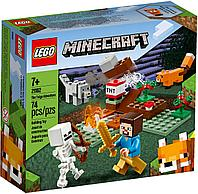 LEGO 21162 Minecraft Приключения в тайге, фото 1