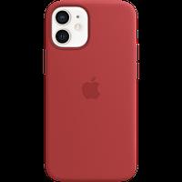Силиконовый чехол MagSafe для IPhone 12 mini Silicone Case with MagSafe - (PRODUCT)RED