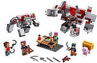 LEGO 21163 Minecraft Битва за красную пыль, фото 1