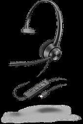Plantronics Poly EncorePro EP310 USB-C — профессиональная телефонная гарнитура (моно, USB тип C)