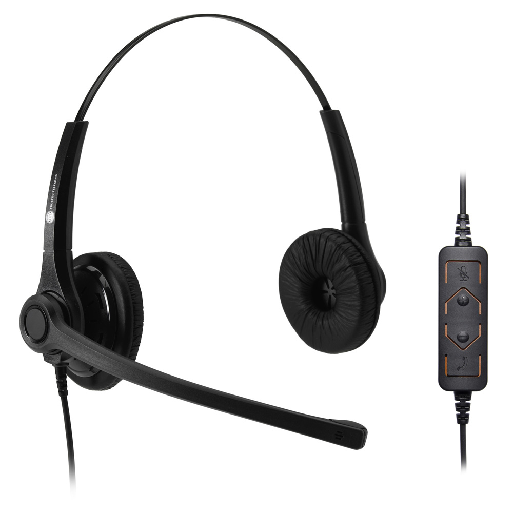 JPL 400B-USB ― проводная гарнитура с шумоподавлением (два динамика, USB 2.0, 4 кнопки управления)