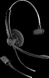 Plantronics SP11-QD/SP-G - проводная гарнитура Practica  с шнуром-переходником для телефонов