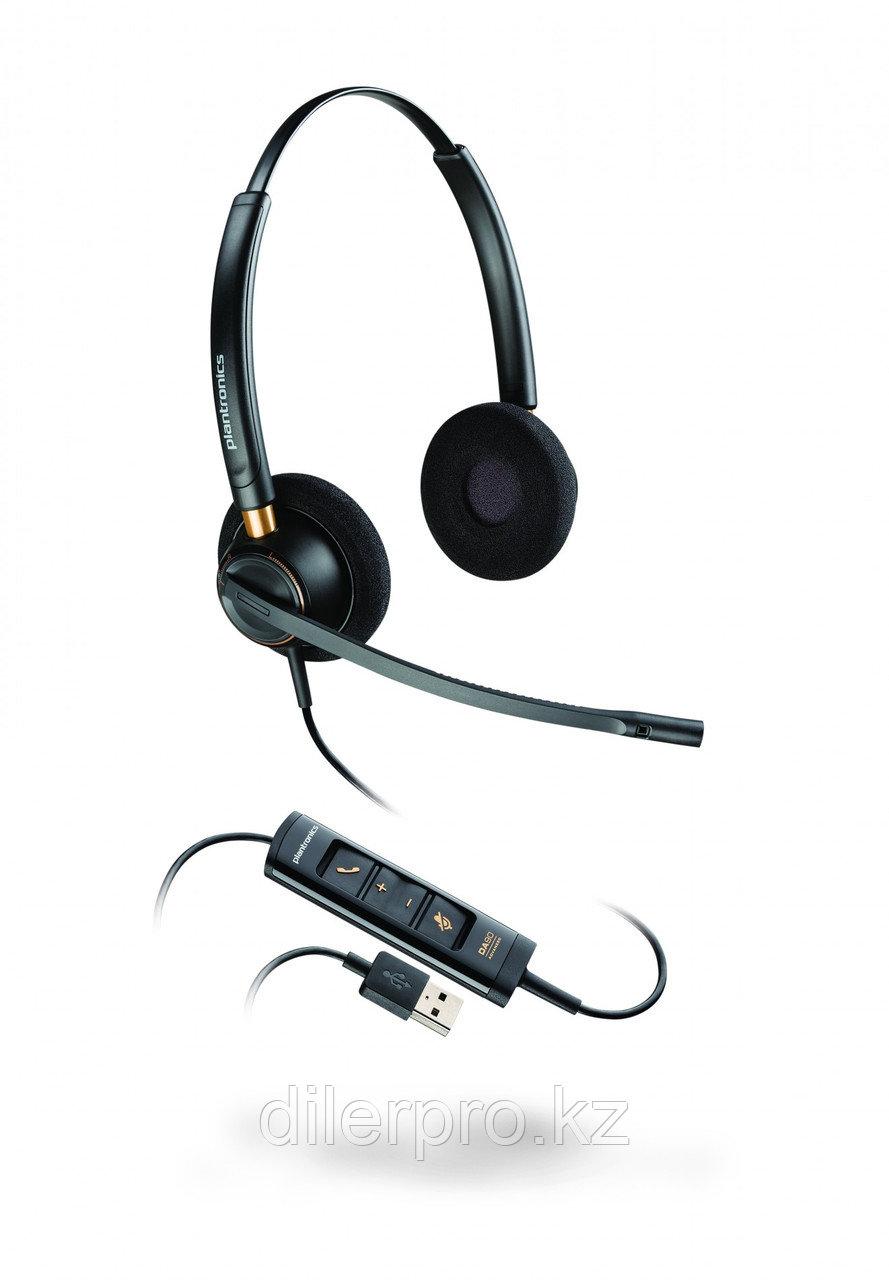 Plantronics EncorePro HW525 USB BNC - профессиональная USB-гарнитура для работы с ПК