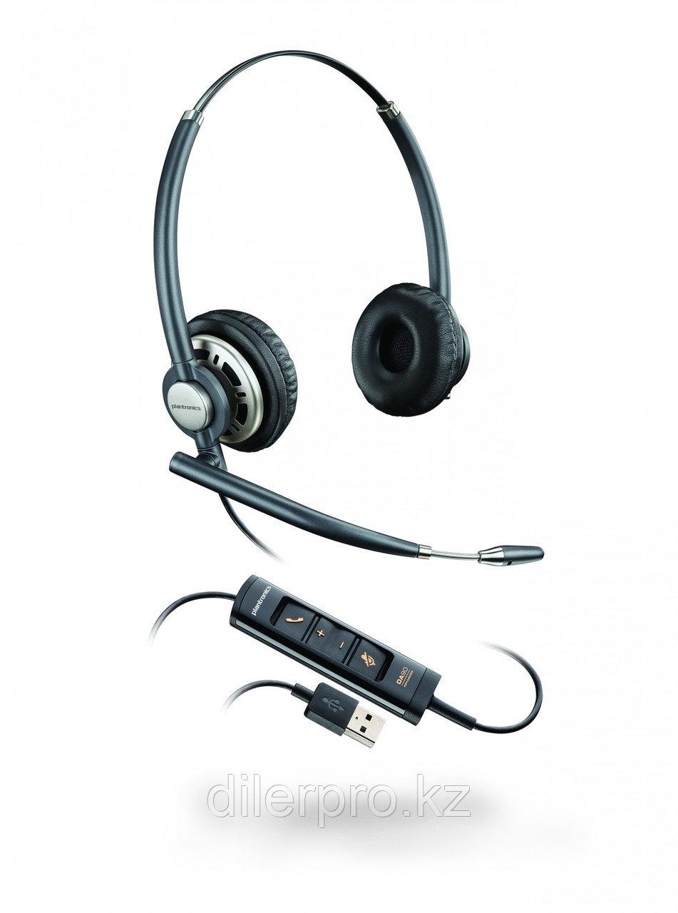 Plantronics EncorePro HW725 USB BNC - профессиональная USB-гарнитура для работы с ПК
