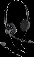 Plantronics SP12-QD/SP-G - проводная гарнитура Practica с шнуром-переходником для телефонных аппаратов