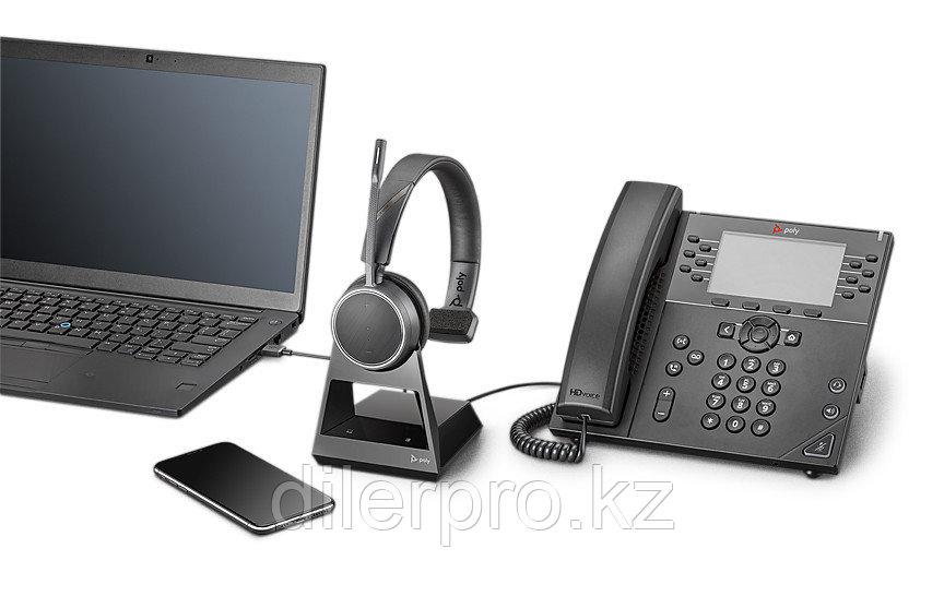 Plantronics Voyager 4210 Office-2 — беспроводная гарнитура для телефона, ПК и мобильных устройств