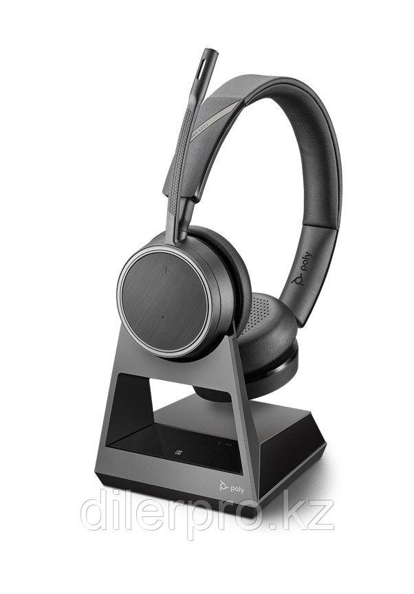 Plantronics Voyager 4220 Office-2 — беспроводная гарнитура для телефона, ПК и мобильных устройств