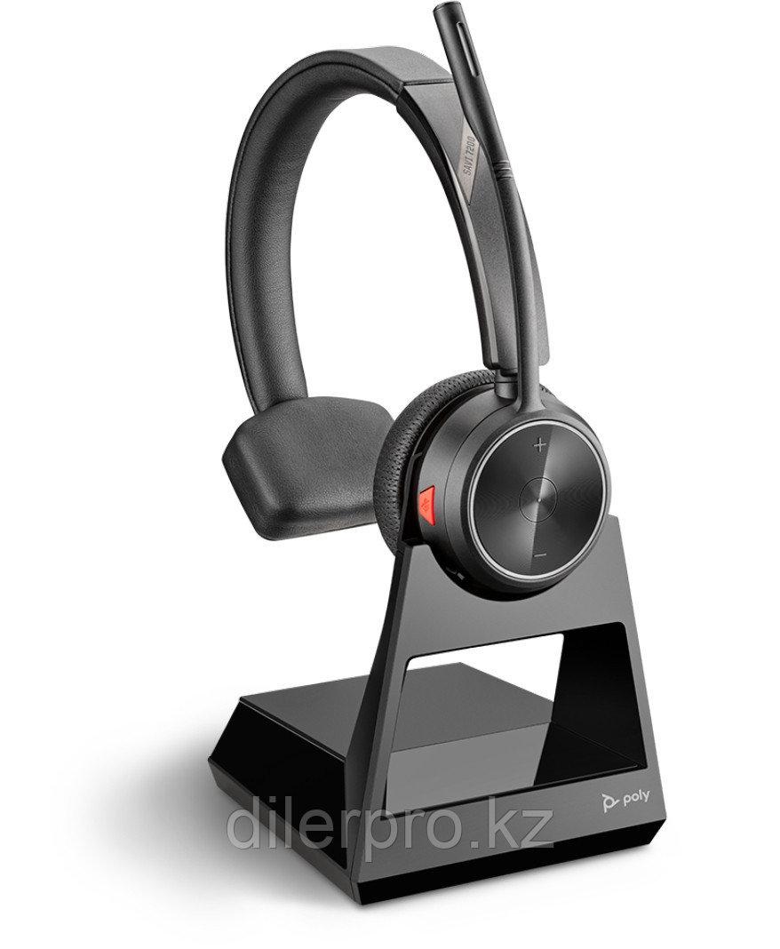 Poly Savi 7210 — Беспроводная DECT-гарнитура для обработки вызовов на стационарном телефоне