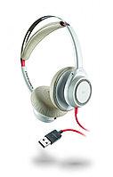 Plantronics BlackWire 7225 проводная гарнитура без штанги микрофона (USB A), белая
