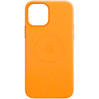 Кожаный чехол с MagSafe IPhone 12 mini Leather Case with MagSafe - California Poppy