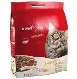Bewi Cat Crocinis 1кг (курица, индейка, рыба) Сухой корм для взрослых кошек из смеси трех видов крокет
