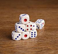 Кости игральные Зарики Кубики 1,8х1,8 см
