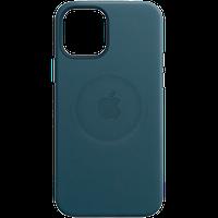 Кожаный чехол с MagSafe IPhone 12 mini Leather Case with MagSafe - Baltic Blue