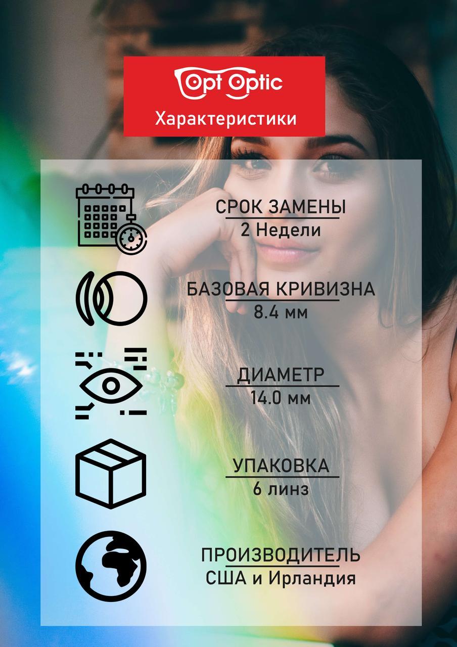 Контактные линзы ACUVUE Acuvue Oasys Двухнедельные / 14 / 8.4, 6 шт. -5.00 - фото 4