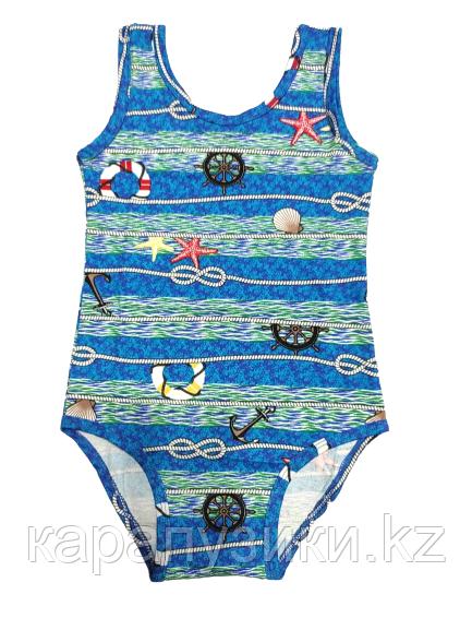 Купальник  для плавания детский морской