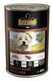 Belcando 400г. Best Quality Meat & Liver Консервы для собак Мясо с печенью