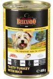 Belcando 400г. Best Quality Meat Tasty turkey with rice Консервы для собак Индейка с рисом, фото 1