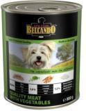 Belcando 800г ТЕЛЯТИНЫ  с овощами Meat with Vegetables Консервы для собак