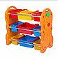 Детская пластиковая этажерка для игрушек, фото 5