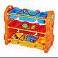 Детская пластиковая этажерка для игрушек, фото 7