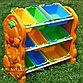 Детская пластиковая этажерка для игрушек, фото 3