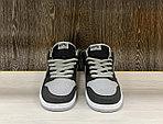 Кроссовки Nike SB Dunk Low Pro J Pack Shadow Black Medium Grey White, фото 3