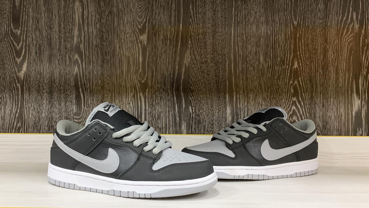 Кроссовки Nike SB Dunk Low Pro J Pack Shadow Black Medium Grey White