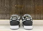Кроссовки Nike SB Dunk Low Pro J Pack Shadow Black Medium Grey White, фото 4