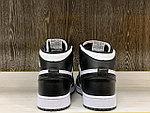 Кроссовки  Air Jordan 1 Retro Black&White, фото 4