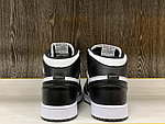 Кроссовки Nike Air Jordan 1 Retro Black&White, фото 4