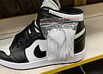 Кроссовки Nike Air Jordan 1 Retro Black&White, фото 5