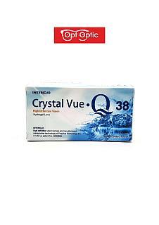 Контактные линзы Crystal Vue Q 38 Квартальные / 14 / 8.6, 4 шт.