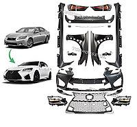 Комплект рестайлинга для Lexus GS (L10) 2012-15 в 2016 год F-sport, фото 1
