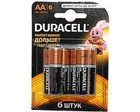 Batarea DURACELL Basic AA Бат 1.5V LR6 (6 шт)