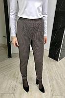 Женские осенние серые деловые брюки YFS 204 серый 42р.