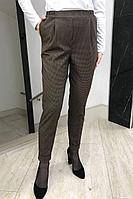Женские осенние зеленые деловые брюки YFS 204 зеленый 42р.