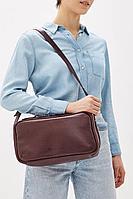 Женская осенняя кожаная красная сумка Igermann 19С902 КВ6 без размерар.