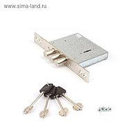 Замок врезной Apecs Premier T-57/S8-NI, б/о, 4 ключа